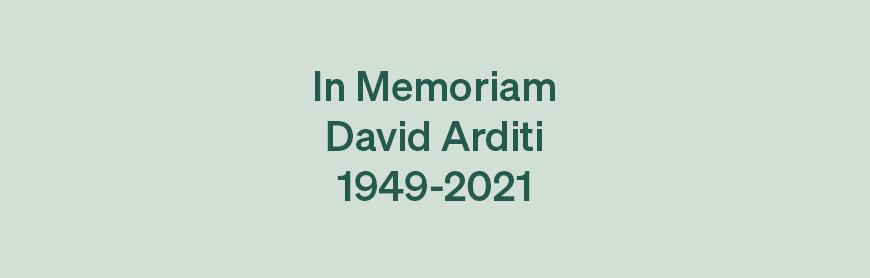 David Arditi RIP